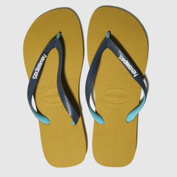 Havaianas Yellow Top Mix Mens Sandals