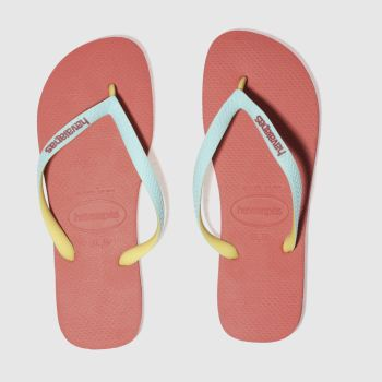 Havaianas Pink Top Mix Mens Sandals