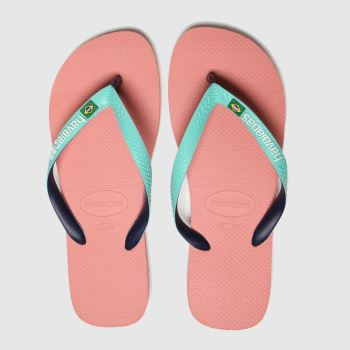 Havaianas Pink Brasil Mix c2namevalue::Mens Sandals