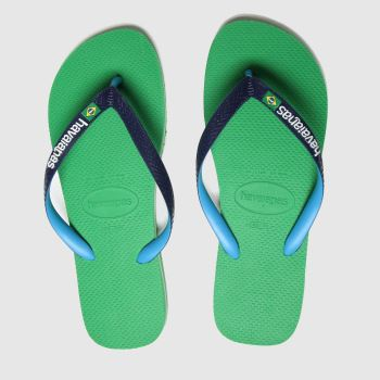 Havaianas Green Brasil Mix Mens Sandals