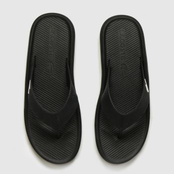 Lacoste Black Croc c2namevalue::Mens Sandals