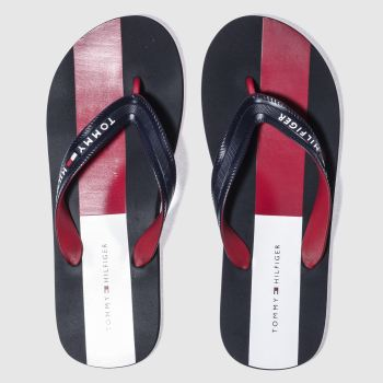 Tommy Hilfiger Navy & Red LANE 2R Sandals
