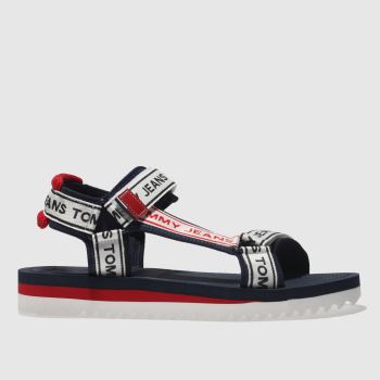 Tommy Hilfiger White Tj Technical Mens Sandals