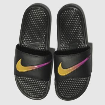 Nike Black Benassi Slide Mens Sandals