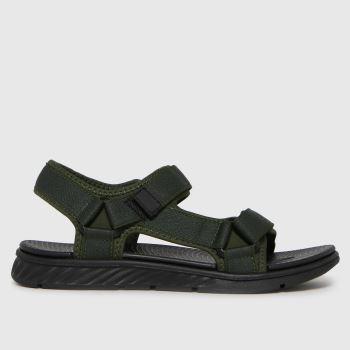 schuh Khaki Seb Adventure Mens Sandals