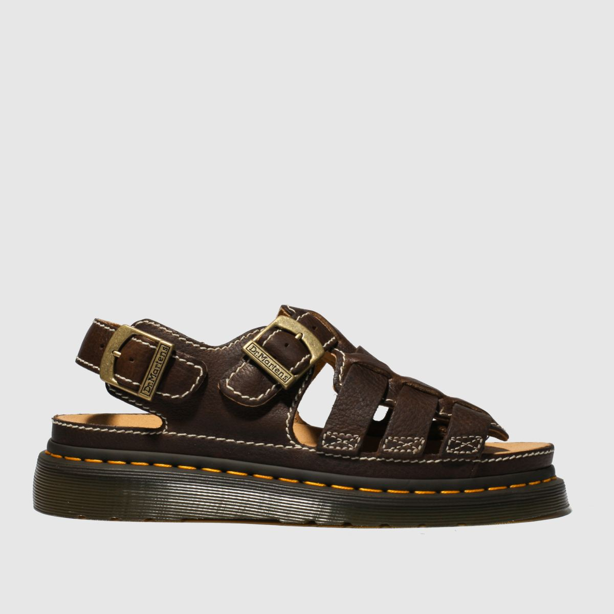 Dr Martens Dark Brown 8092 Arc Sandals
