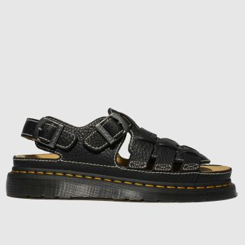 Dr Martens Black 8092 Arc Mens Sandals