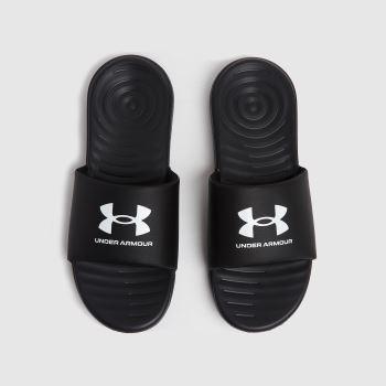 Under Armour Black M Ansa Fix Slide Mens Sandals