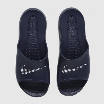 Nike Navy & White Victori One Mens Sandals