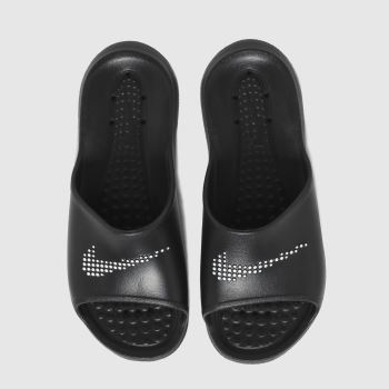 Nike Black & White Victori One Mens Sandals