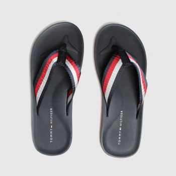 Tommy Hilfiger Navy Beach Mens Sandals