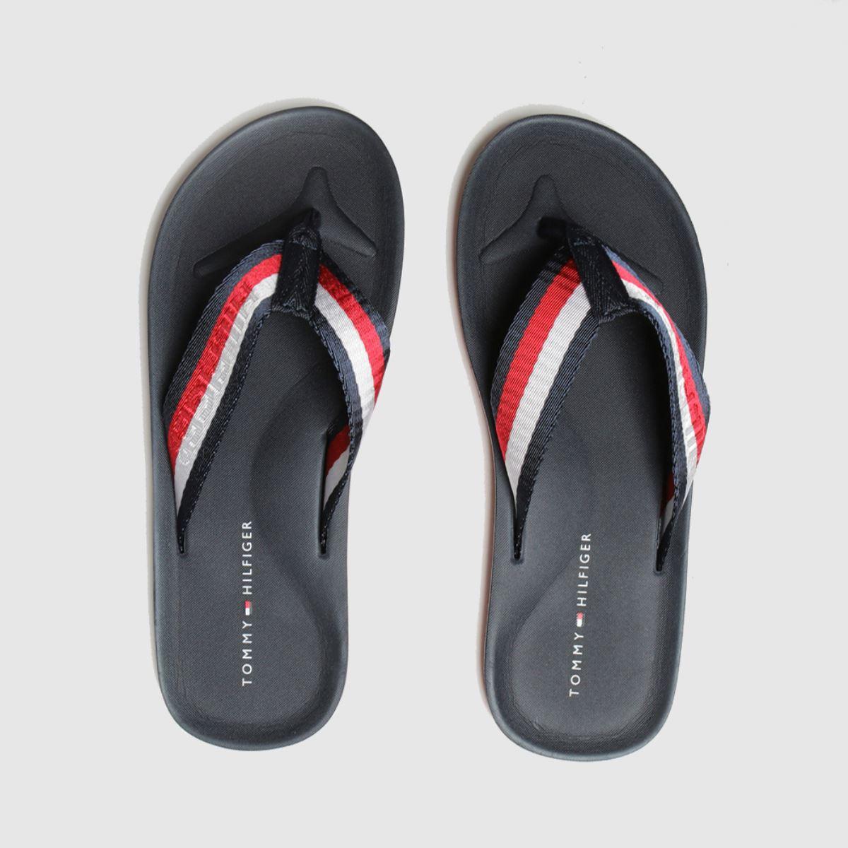 Tommy Hilfiger Navy Beach Sandals