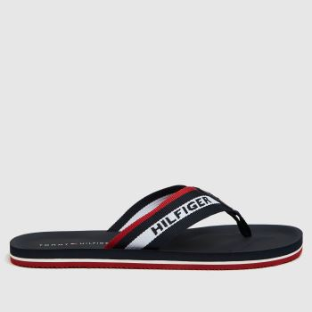 Tommy Hilfiger Navy Beach Mens Sandals