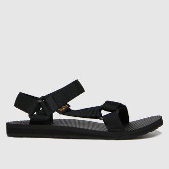 Teva Black Original Universal Vegan Mens Sandals