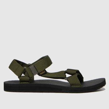 Teva Black & Brown Original Universal Mens Sandals