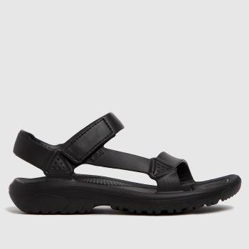 Teva Black Hurricane Drift Vegan Mens Sandals