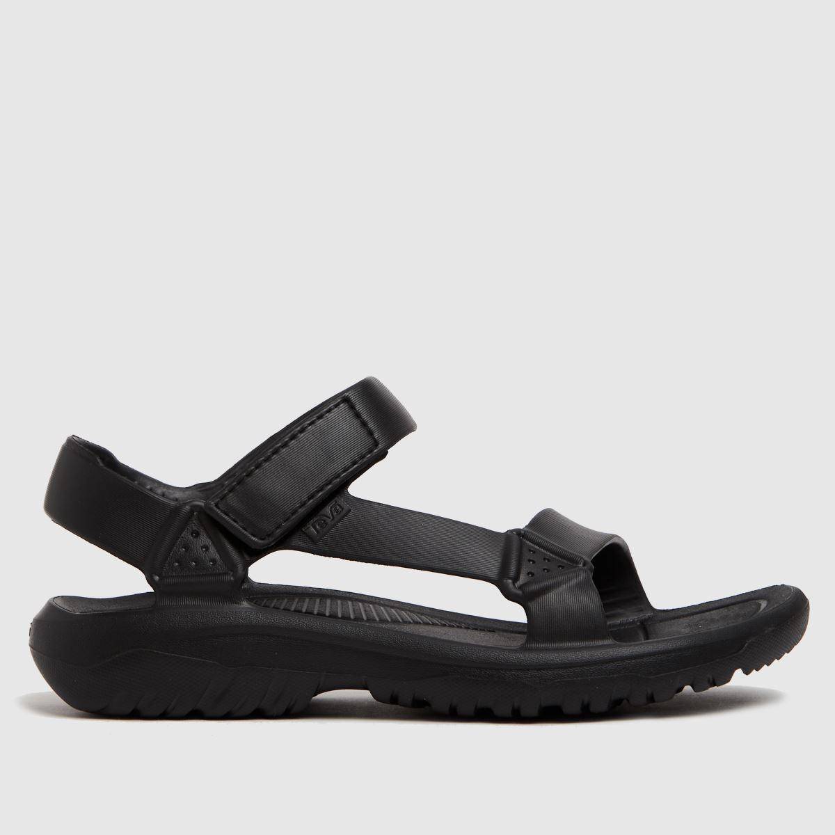 Teva Black Hurricane Drift Vegan Sandals