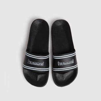 hummel Black Retro Slide Mens Sandals