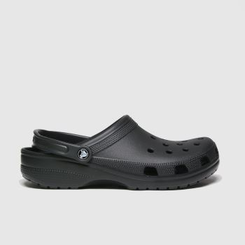 crocs Black Classic Mens Sandals