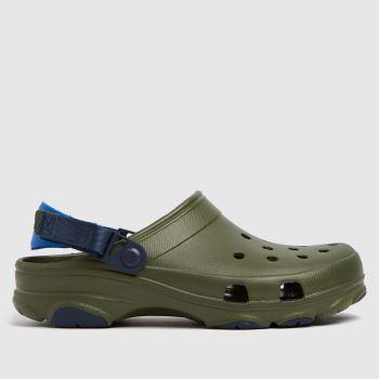 crocs Khaki Classic All Terrain Mens Sandals