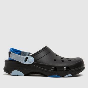 crocs Black Classic All Terrain Mens Sandals