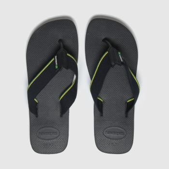 Havaianas Black Urban Brasil Mens Sandals