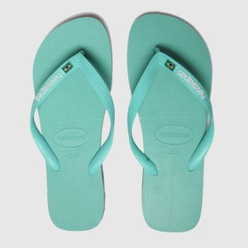 Havaianas Green Brasil Layers c2namevalue::Mens Sandals