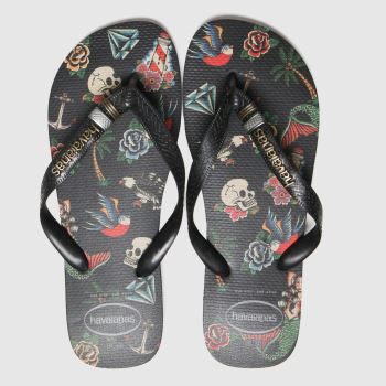 Havaianas Black Top Tribo Mens Sandals