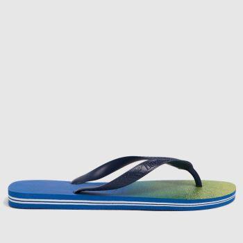 Havaianas Blue Brasil Fresh Mens Sandals