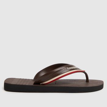 Havaianas Brown New Hybrid Free Mens Sandals