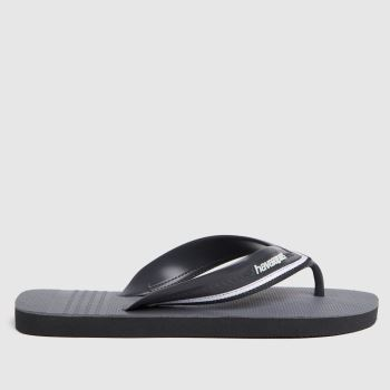 Havaianas Grey New Hybrid Free Mens Sandals