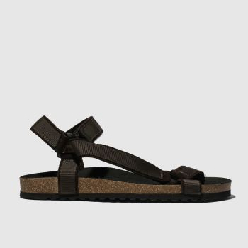 Schuh Brown Trekker Sandal Mens Sandals