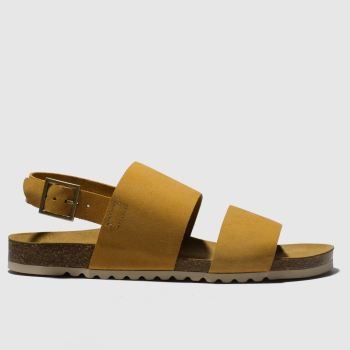 Red Or Dead Yellow Mr Wright Mens Sandals