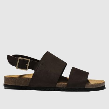 Red Or Dead Brown Mr Wright Mens Sandals