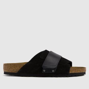 BIRKENSTOCK Black Kyoto Mens Sandals