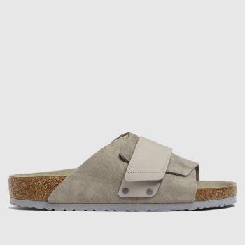 BIRKENSTOCK Grey Kyoto Mens Sandals
