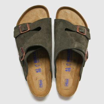 Birkenstock Brown Zurich Mens Sandals