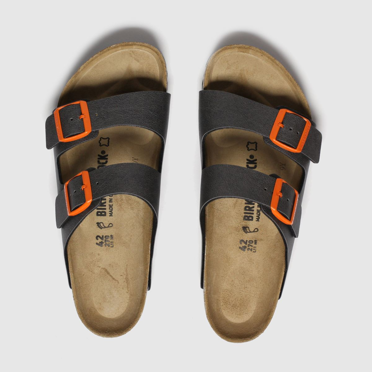 Birkenstock Grey Arizona Sandals