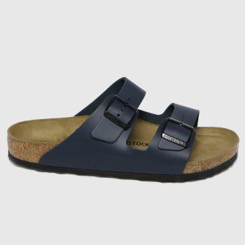 BIRKENSTOCK Navy Arizona Mens Sandals