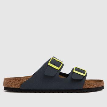 BIRKENSTOCK Grey Arizona Mens Sandals