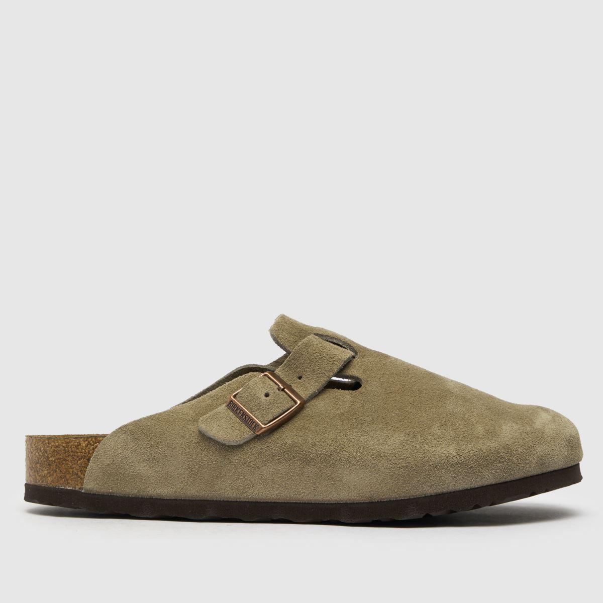 BIRKENSTOCK Beige Boston Sandals