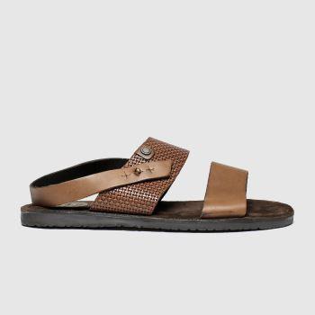Base London Tan Empire c2namevalue::Mens Sandals