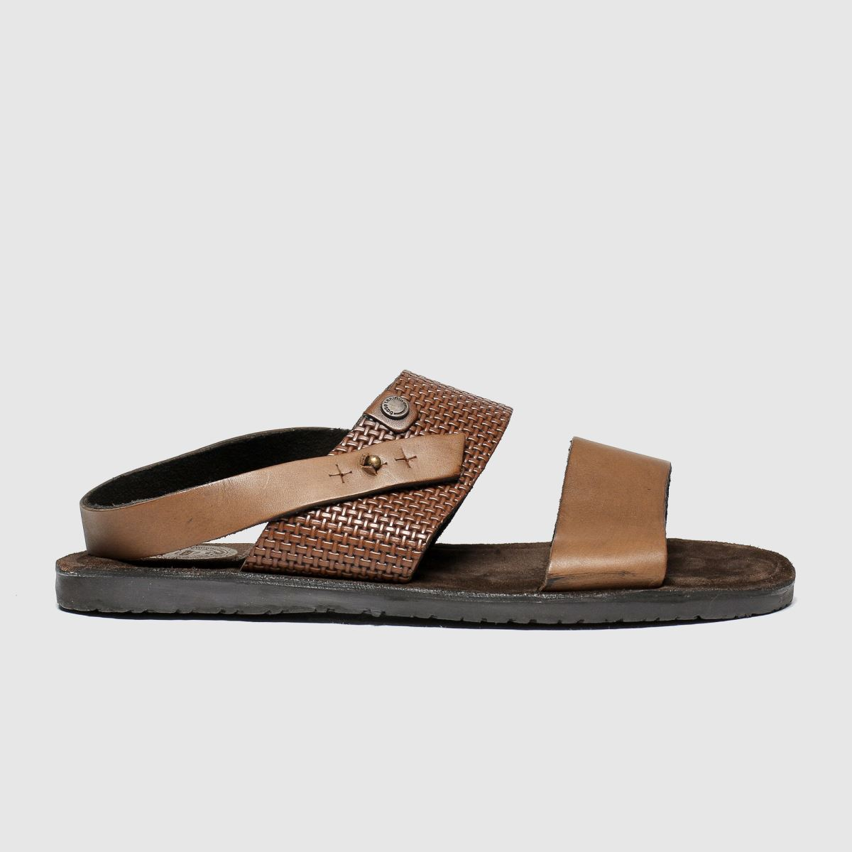 Base London Tan Empire Sandals