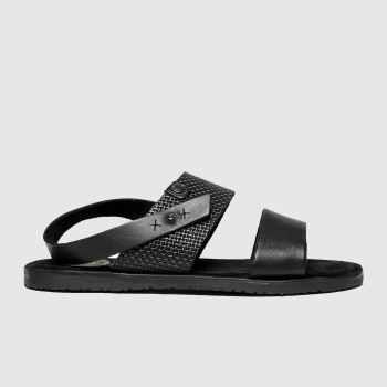 base london black empire sandals