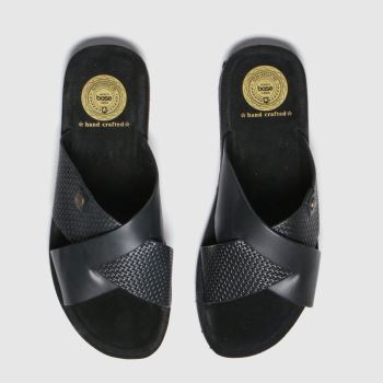 Base London Navy Leo c2namevalue::Mens Sandals