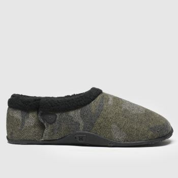 Homeys Khaki Mick Mens Slippers