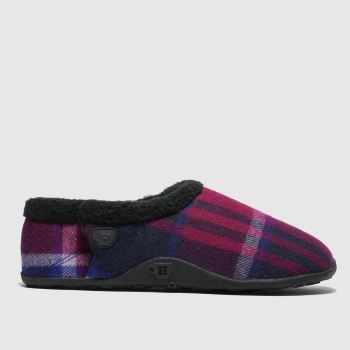 Homeys Pink Lennie Mens Slippers