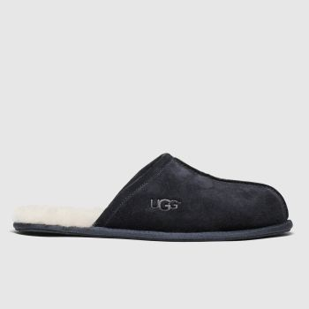 Ugg Navy Scuff Mens Slippers#