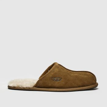 Ugg Tan Scuff Mens Slippers#