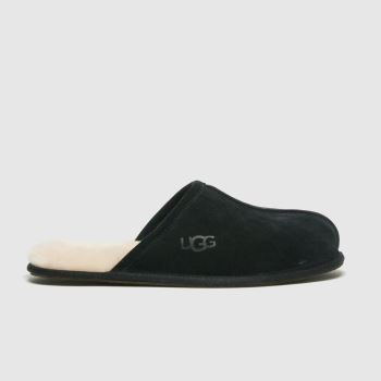 UGG Black Scuff Mens Slippers